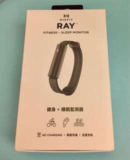Misfit Ray 健身  睡眠監察器 運動手帶 fitness sleep monitor black  卡路里計算 短訊通知 震動提示 步數 全黑色全新 NEW
