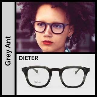 Grey Ant Dieter Grey Horn eyeglasses
