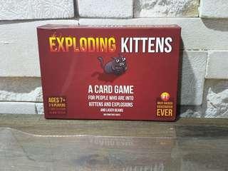 BN Exploding Kittens Card Game #EndGameYourExcess