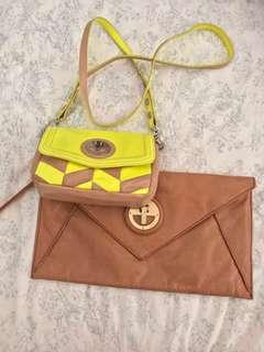 Mimco leather bags 2 for $50