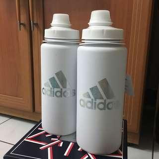 台灣未發Adidas750ml運動水壺愛迪達健身重量飛輪