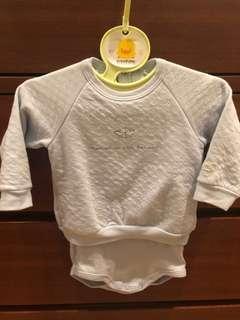 Baby body sweat shirt