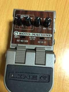 Line 6 ( USA ) Roto machine, no box no manual