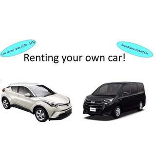 Hybrid Rental - Rent your own car