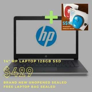 "Bundle 14"" 128 SSD Laptop + Wireless Mouse #ENDGAMEyourEXCESS"