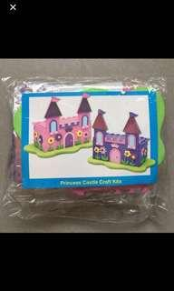 3-D Princess Castle Craft Kit (Pack of 2 castles)