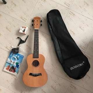 Premium ukulele, concert size, classic