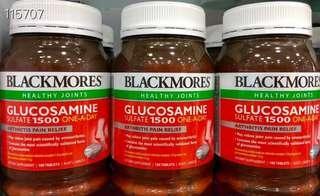 Blackmores Glucosamine Sulfate維骨力葡萄糖胺 1500mg180粒