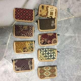 Small batik wallet