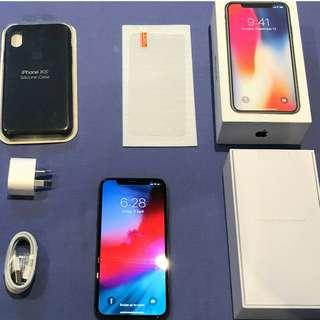 iPhone X 256GB (Unlocked) Space Grey Excellent Condition