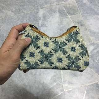 Small batik handbag
