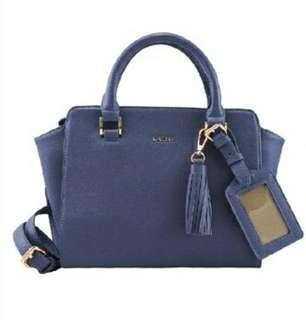 Price Reduced! Sembonia Synthetic Leather Satchel Bag