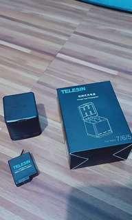 Telesin Charging Box Kit with Battery (heroc5/6/7 black)