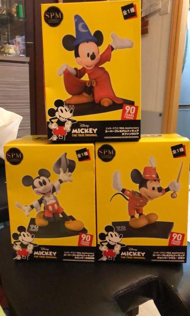 全新米奇老鼠90週年特別版Figure