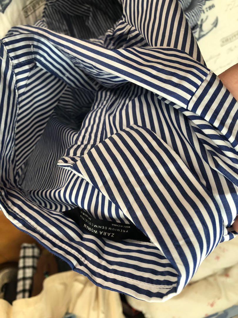 前短後長襯衫