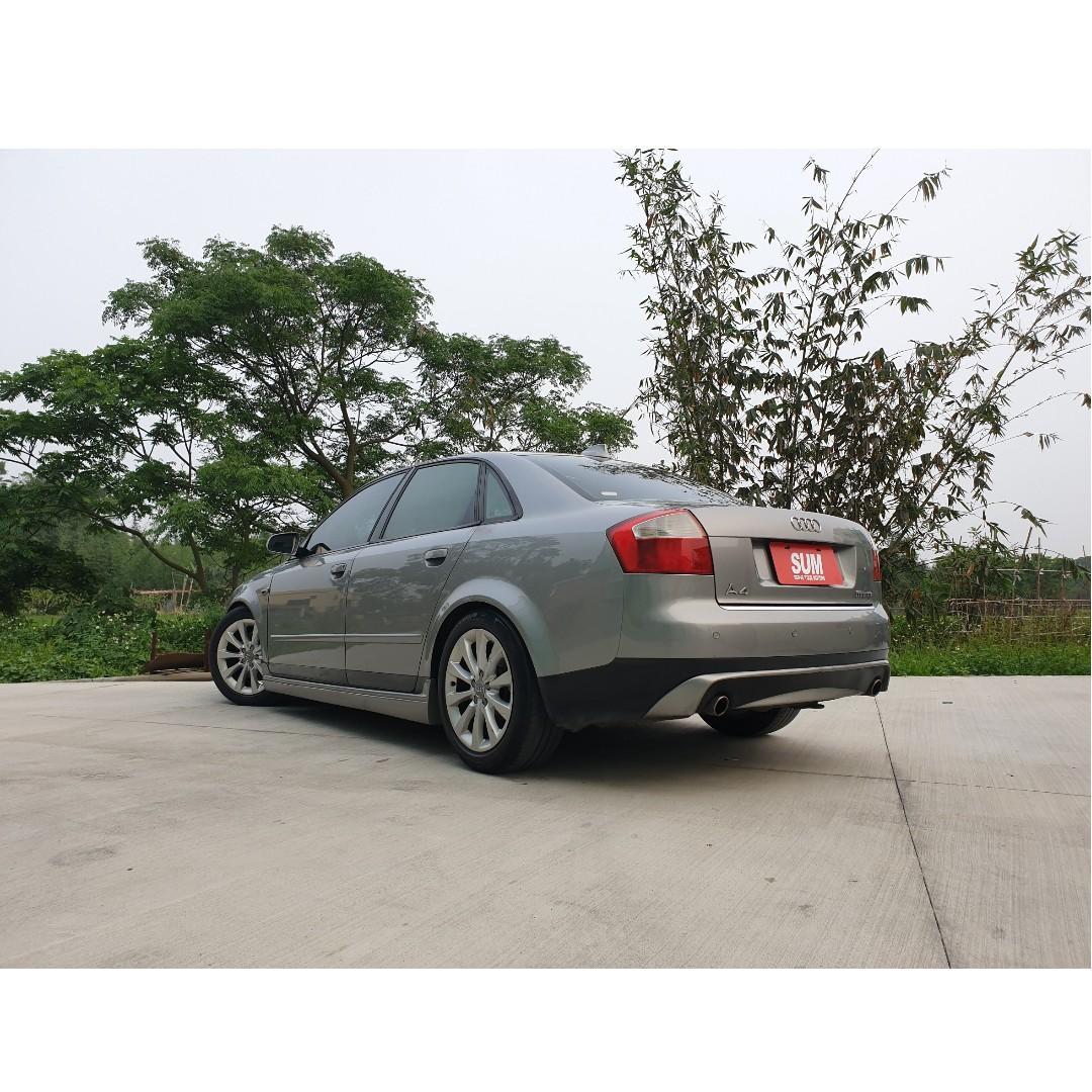 奧迪A4改裝 全額貸 認證中古車 二手車 聯盟保固