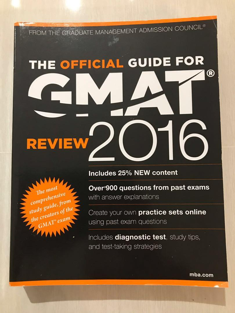 [A ★ GMAT!] Official Guide for GMAT Review 2016