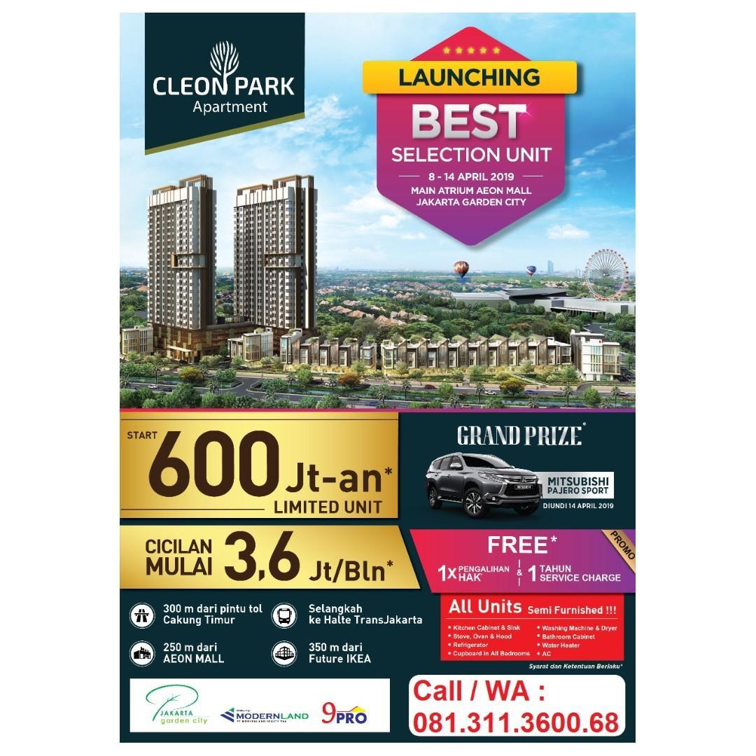 Apartemen Jakarta Furnished Dekat Aeon Dan Ikea Jgc Properti Dijual Di Carousell