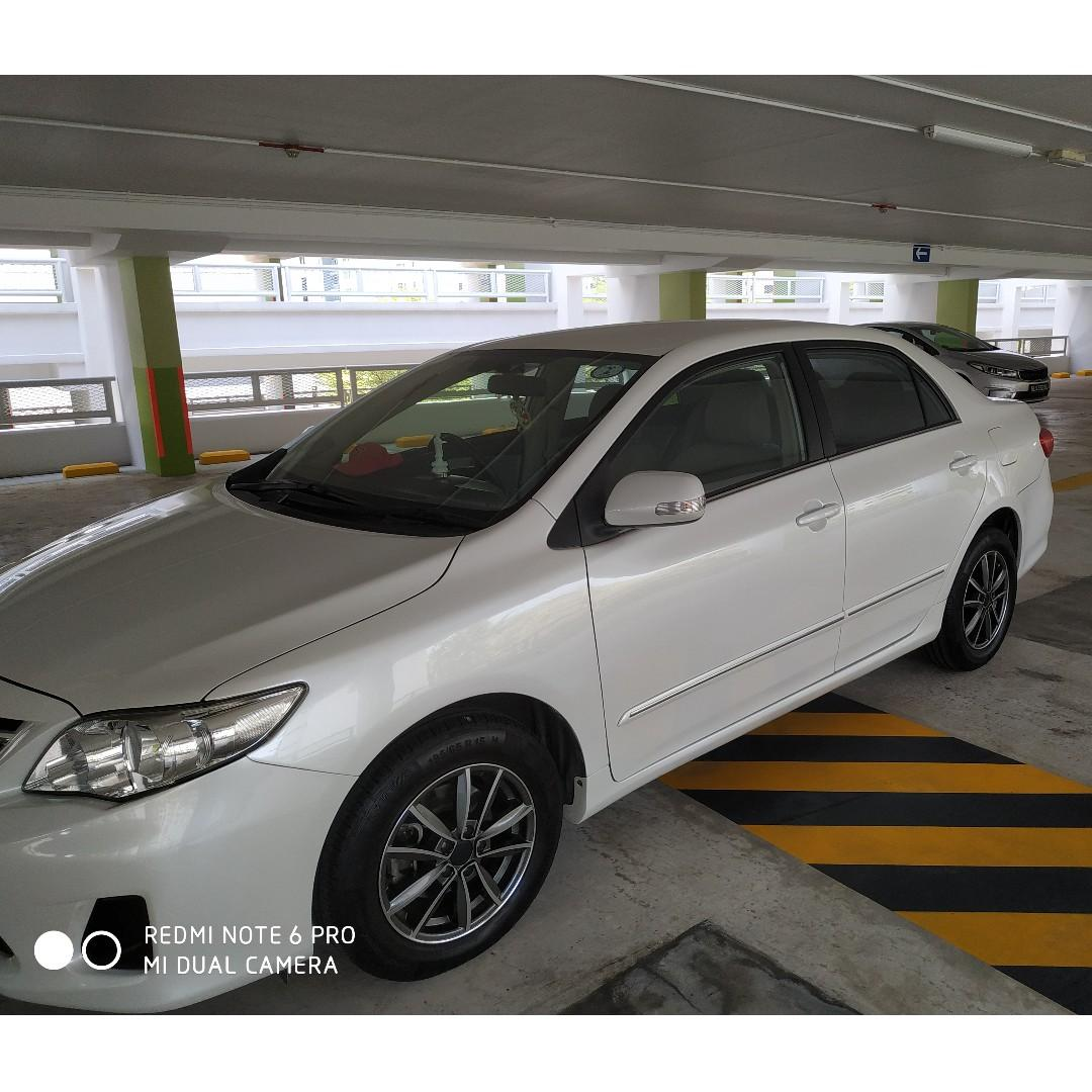 Attn Private Hirer Drivers!2012 Toyota Altis For Lease