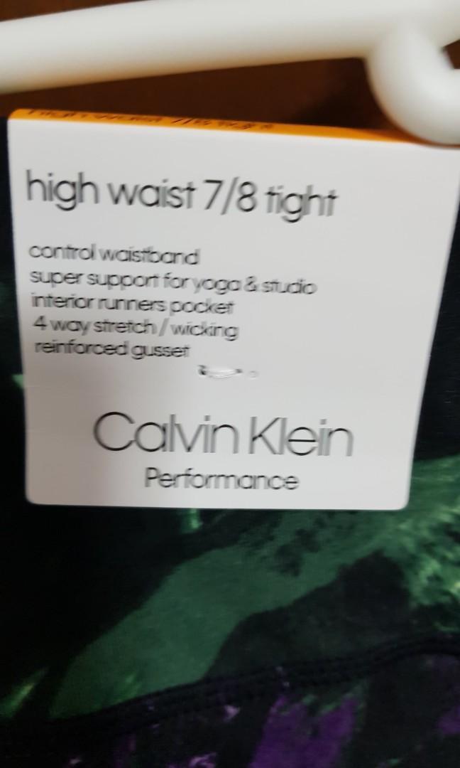 BNWT Calvin Klein Performance 7/8 High Waisted Tights