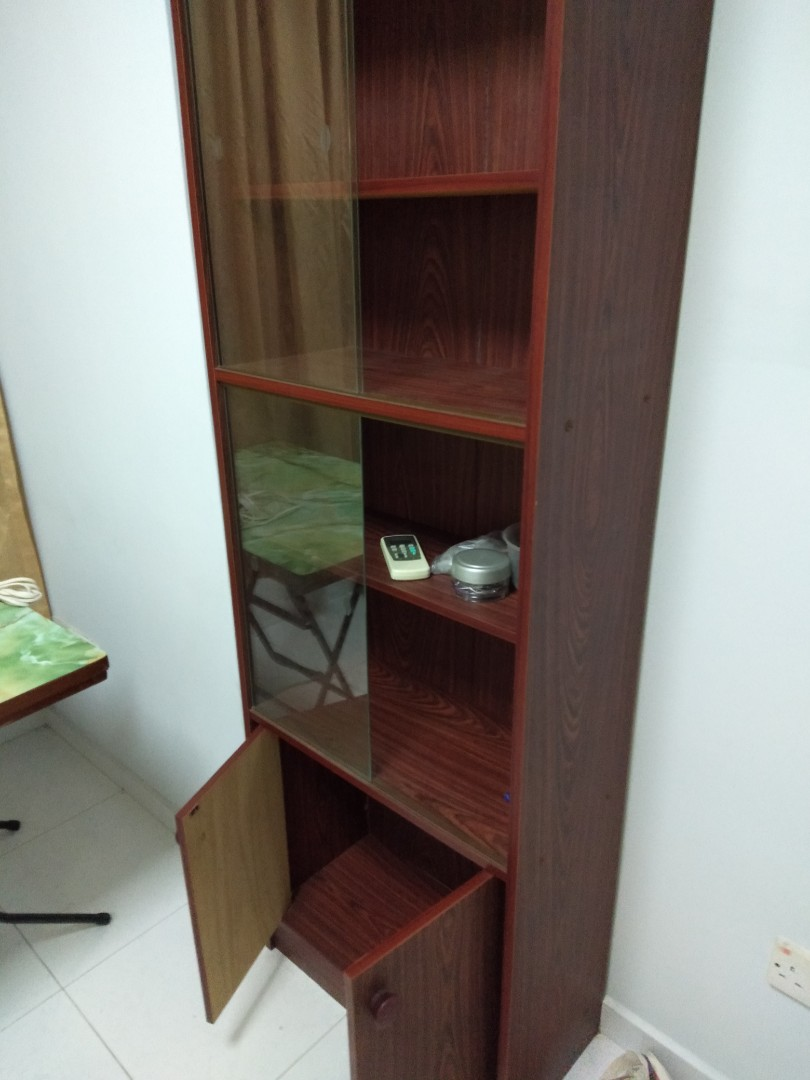 Book Cabinet At Low Price Furniture Shelves Drawers On Carousell