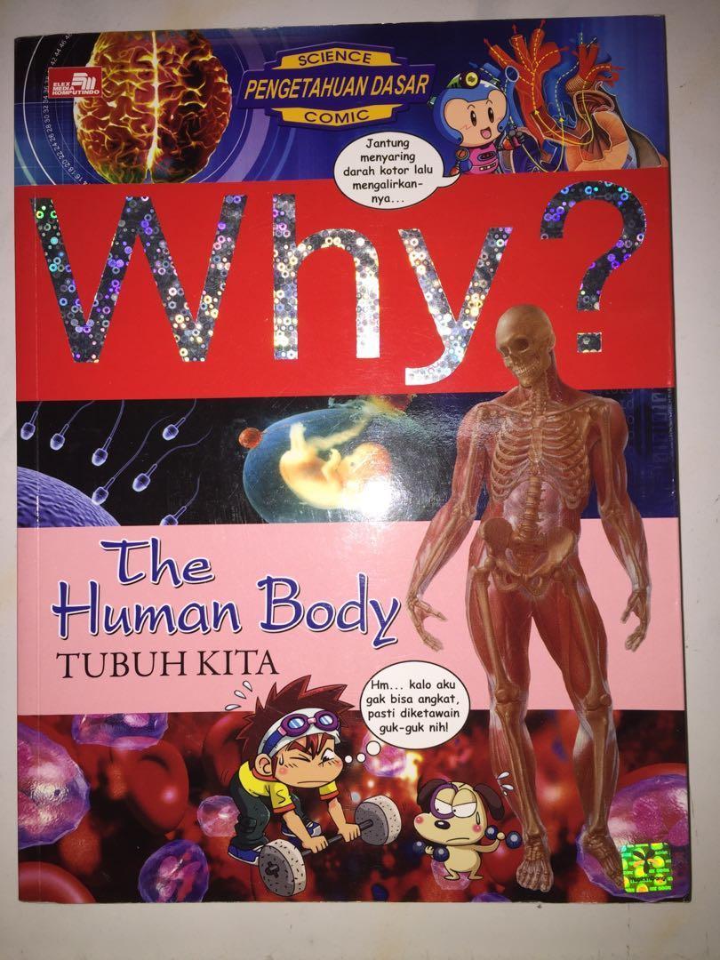 Buku why? the human body original