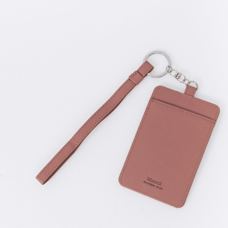 dusty rose Card Holder