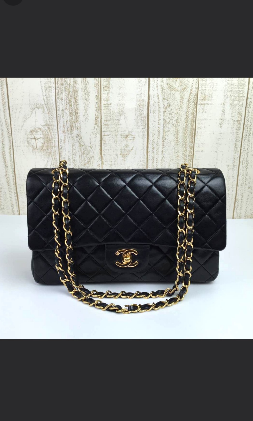 43cf1285a3b9 PRICE REDUCED  Chanel classic double flap medium lambskin GHW ...