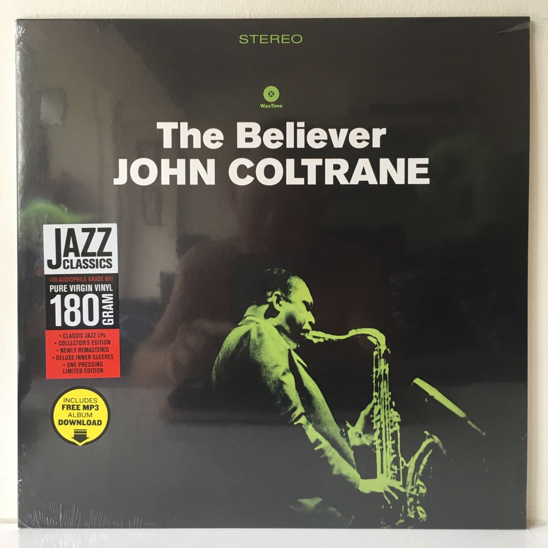 John Coltrane – The Believer (2015 Spain Pressing - Audiophile Grade 180g  - Limited Edition - MINT), Music & Media, CDs, DVDs & Other Media on  Carousell