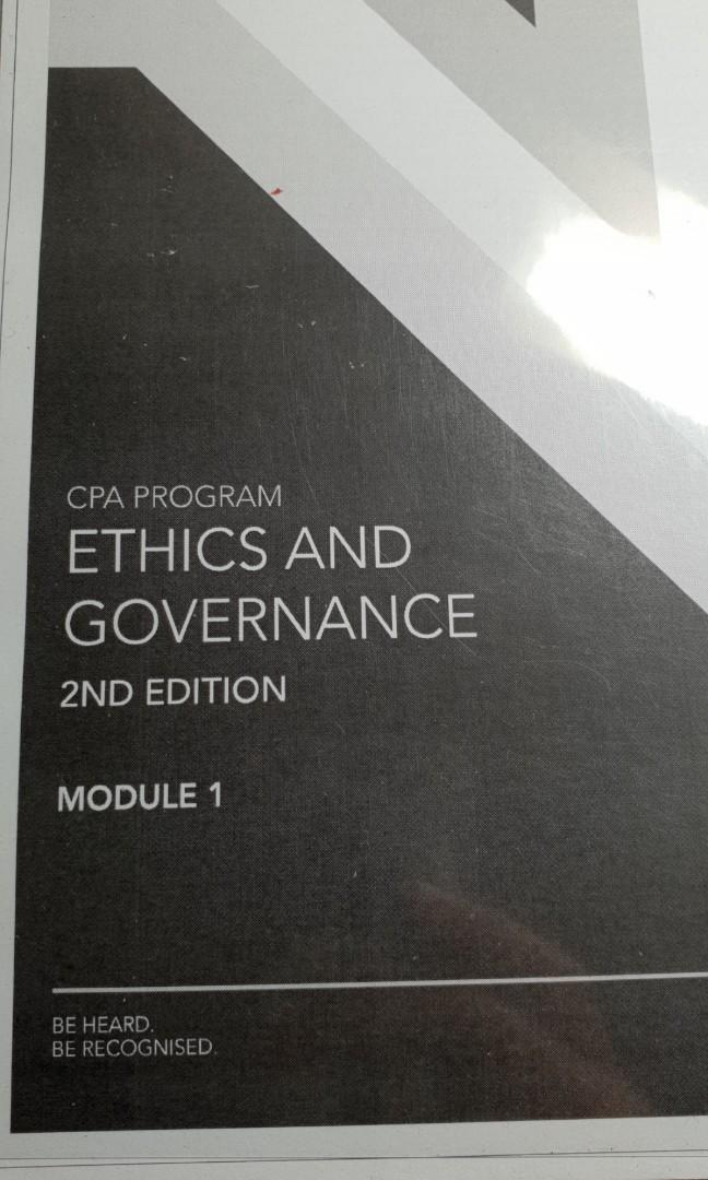 CPA Australia Ethics & Governance, Books & Stationery