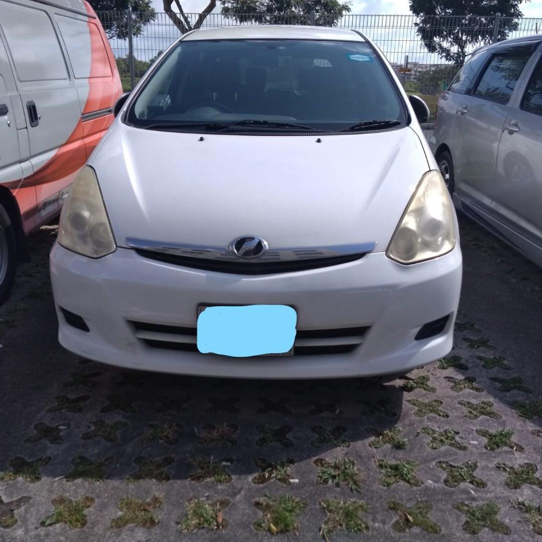 Daily/Weekend/Weekly/Monthly Toyota Wish ( Personal-Grab-Gojek )