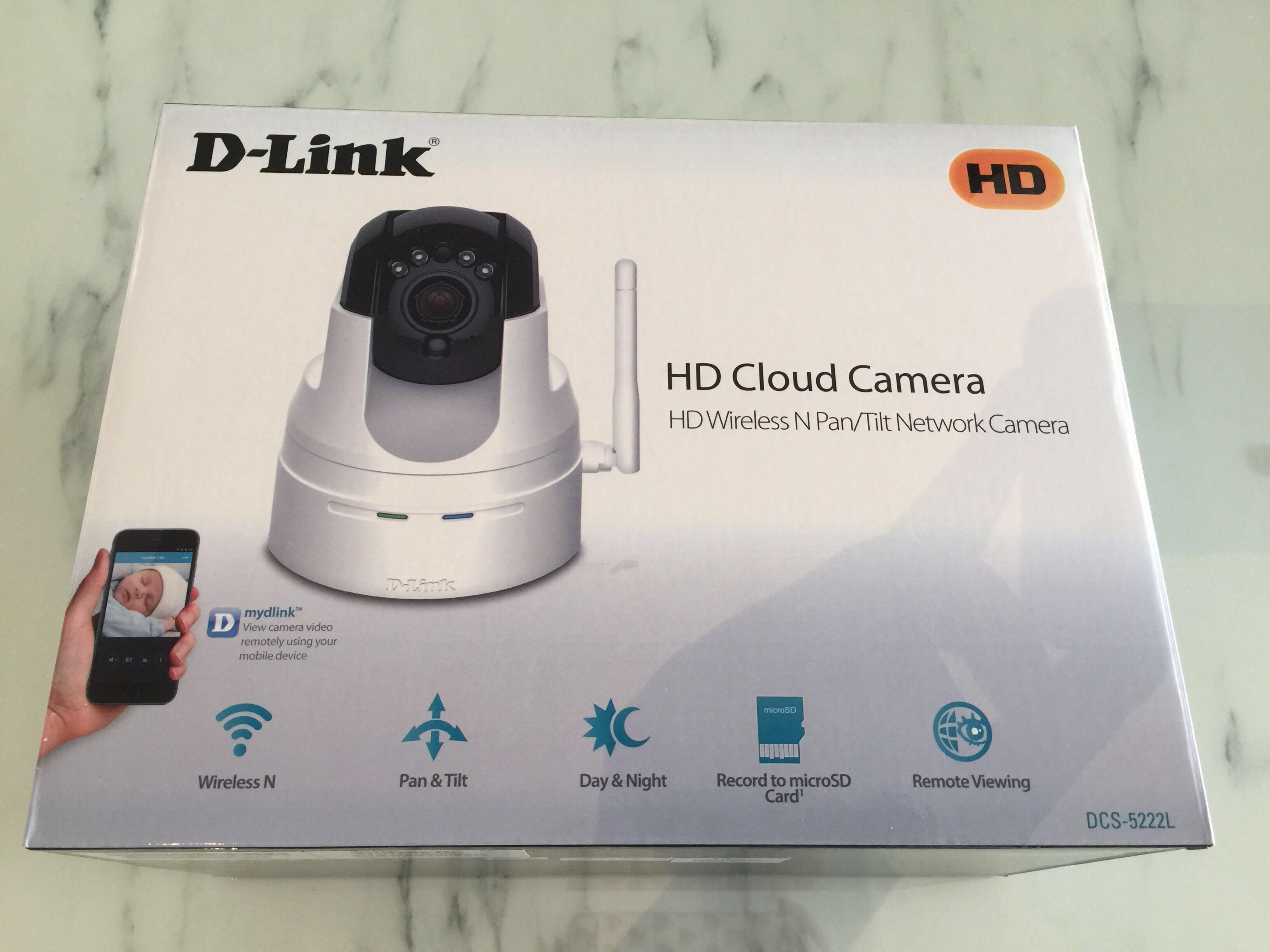 D-Link DCS-5222L HD Cloud Camera IPCamera on Carousell