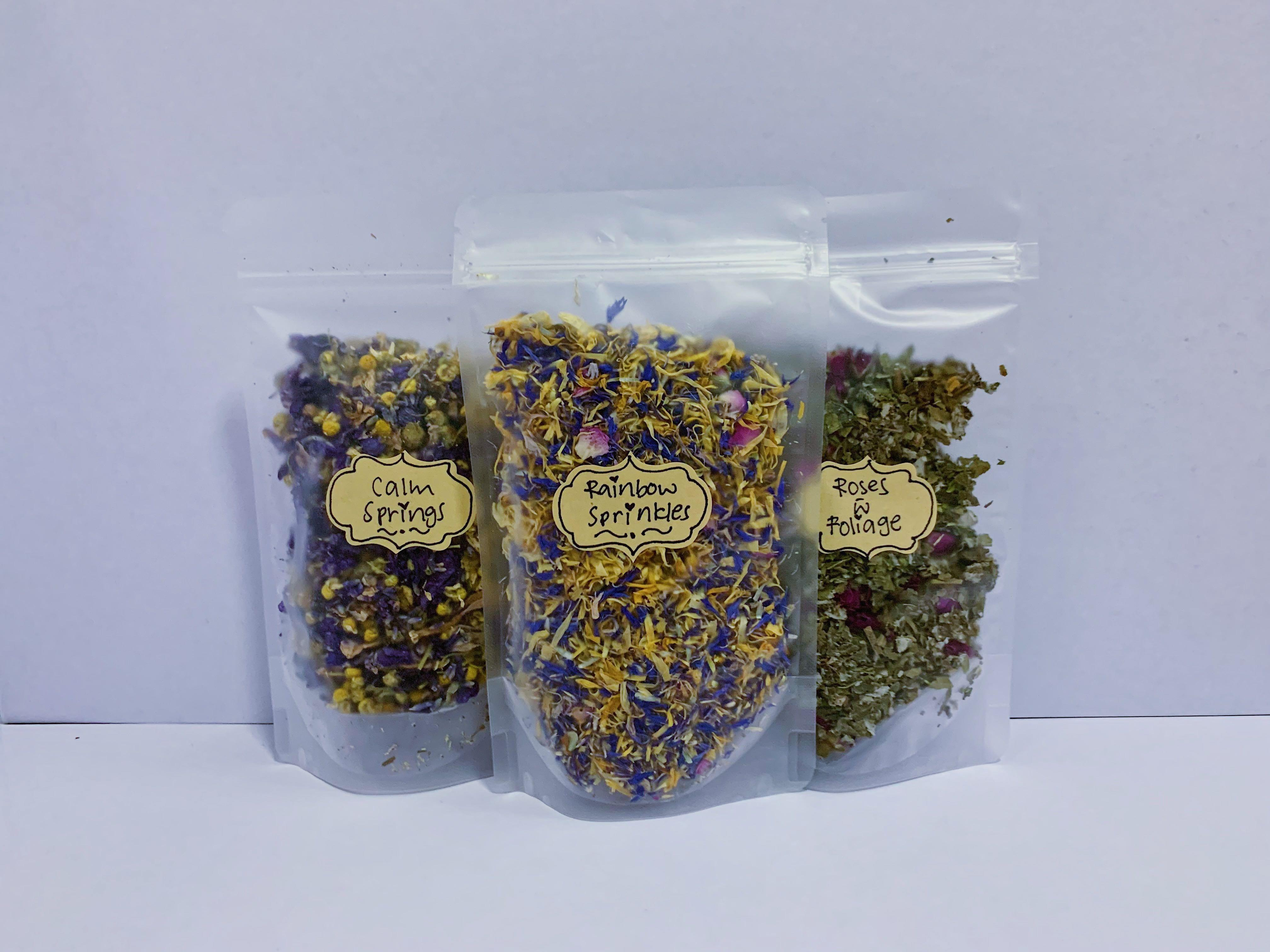 Dried Flowers and Herbs for Small Animals, Pet Supplies, For