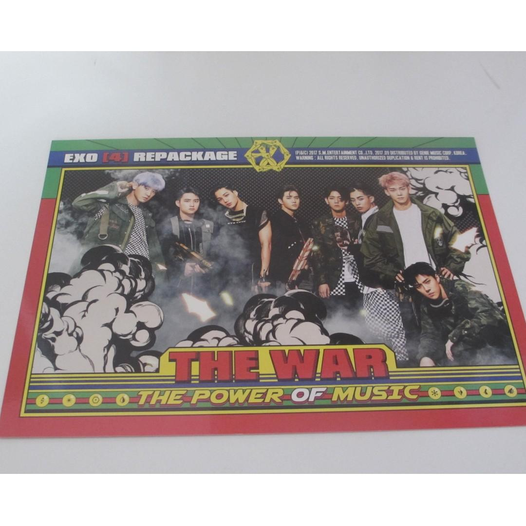 EXO 4th Album Repackage - The Power of Music (The War Repackage)