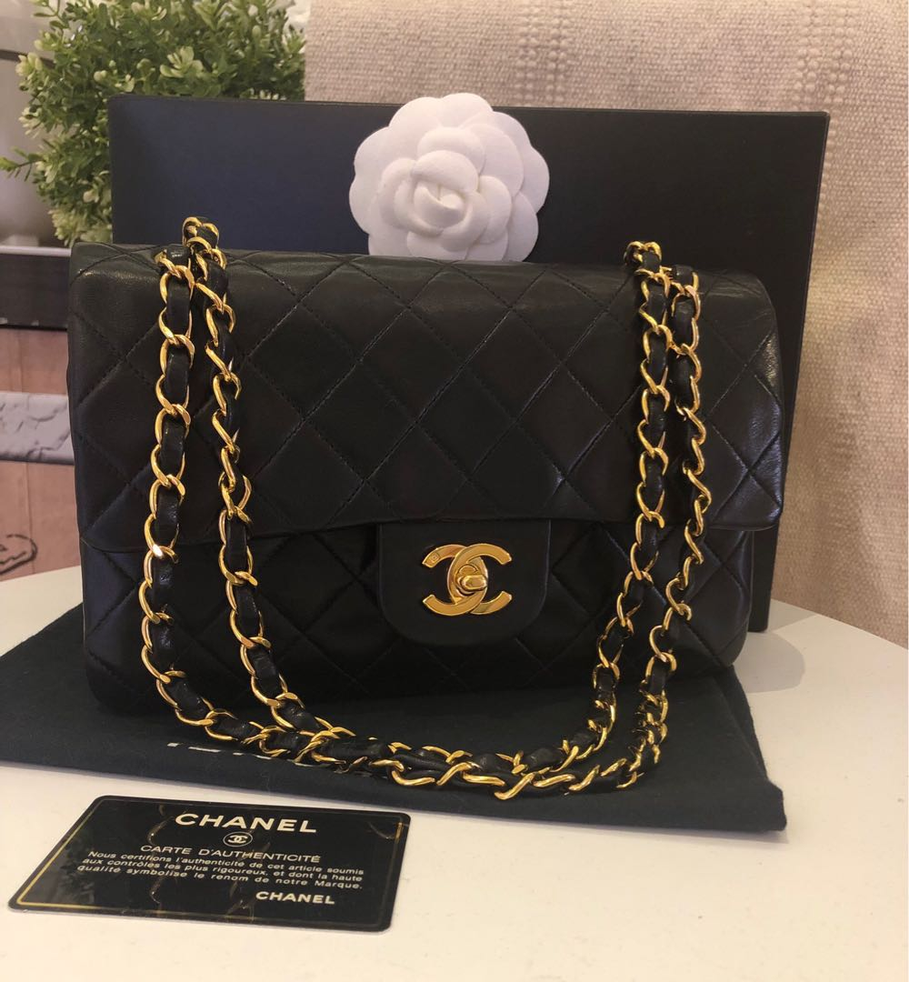 753da63ea56b fast deal $2900*Authentic Chanel vintage small, Luxury, Bags ...