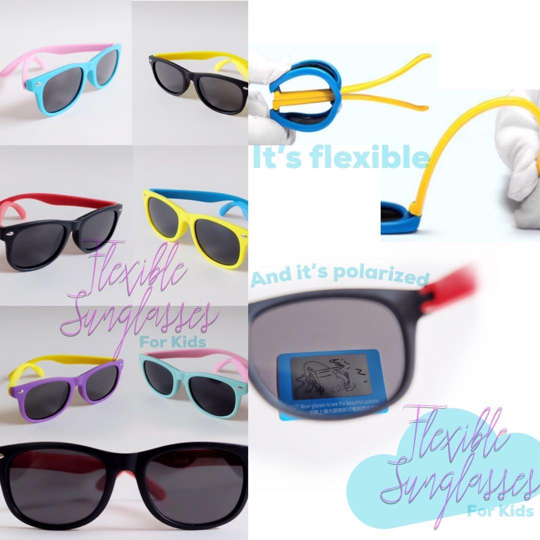 Flexible Sunglasses for Kids