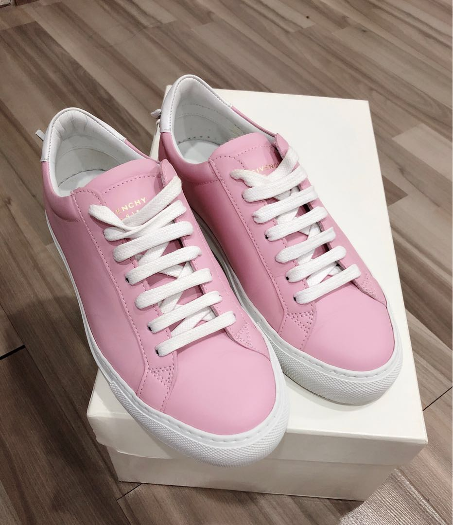 9e8c42ce0c Givenchy Urban Knot Pink Leather Sneakers