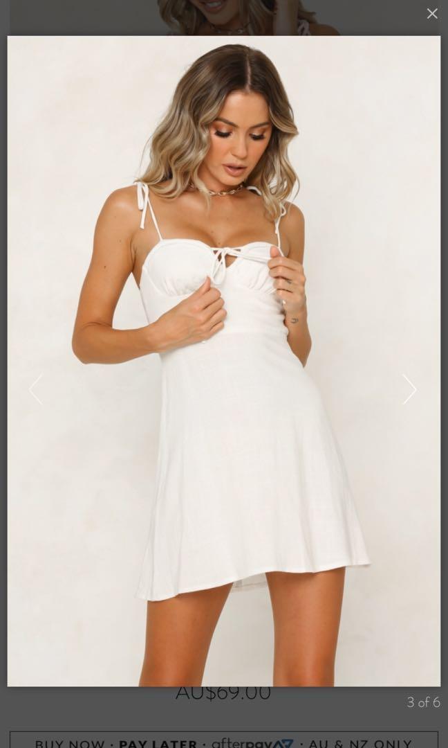 Hello Molly white dress - size 10 BNWT