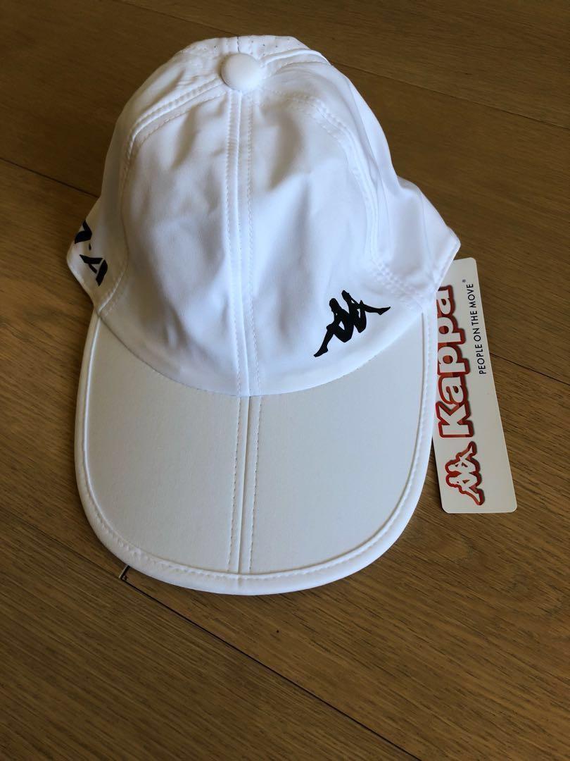 Kappa 白色cap帽