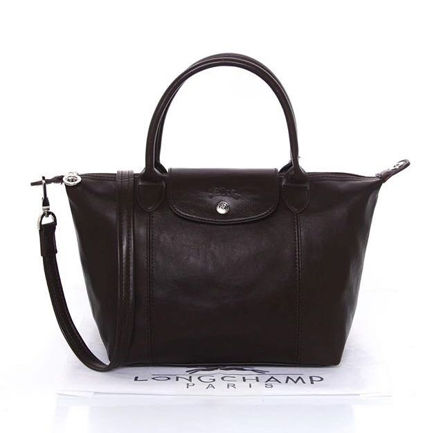 Longchamp Cuir Medium