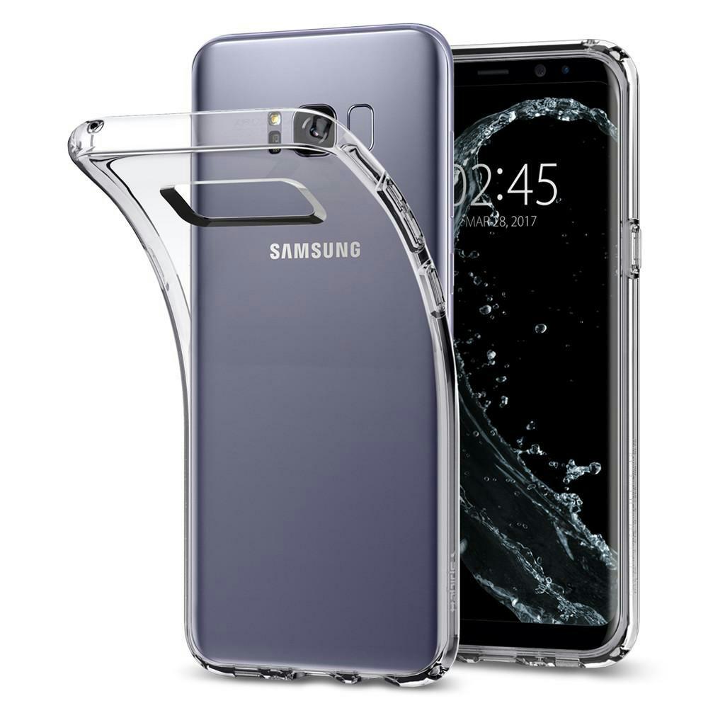 release date 7d724 14d64 (M215) Spigen Galaxy S8 Plus Case Liquid Crystal