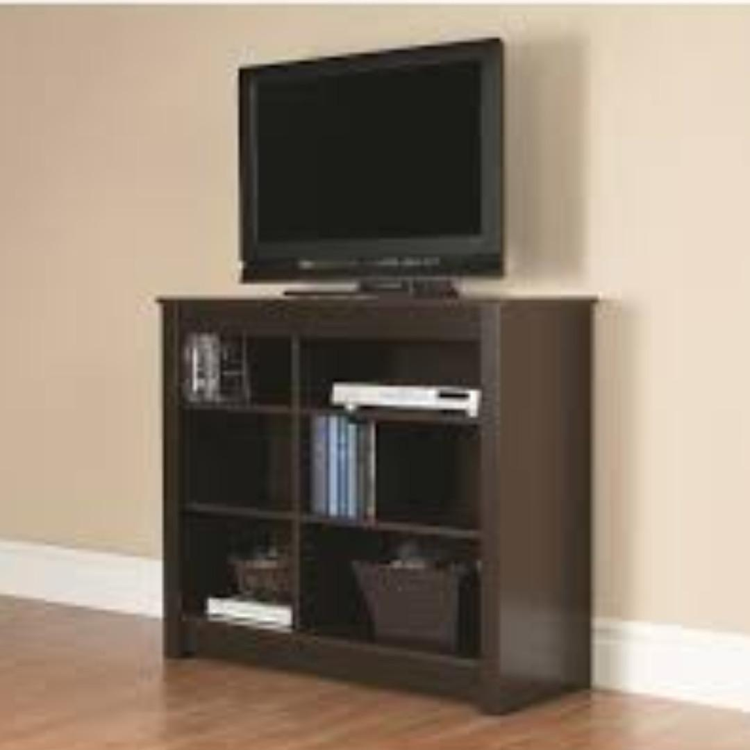 Mainstays Orion Espresso Bookcase And Tv Stand On Carousell