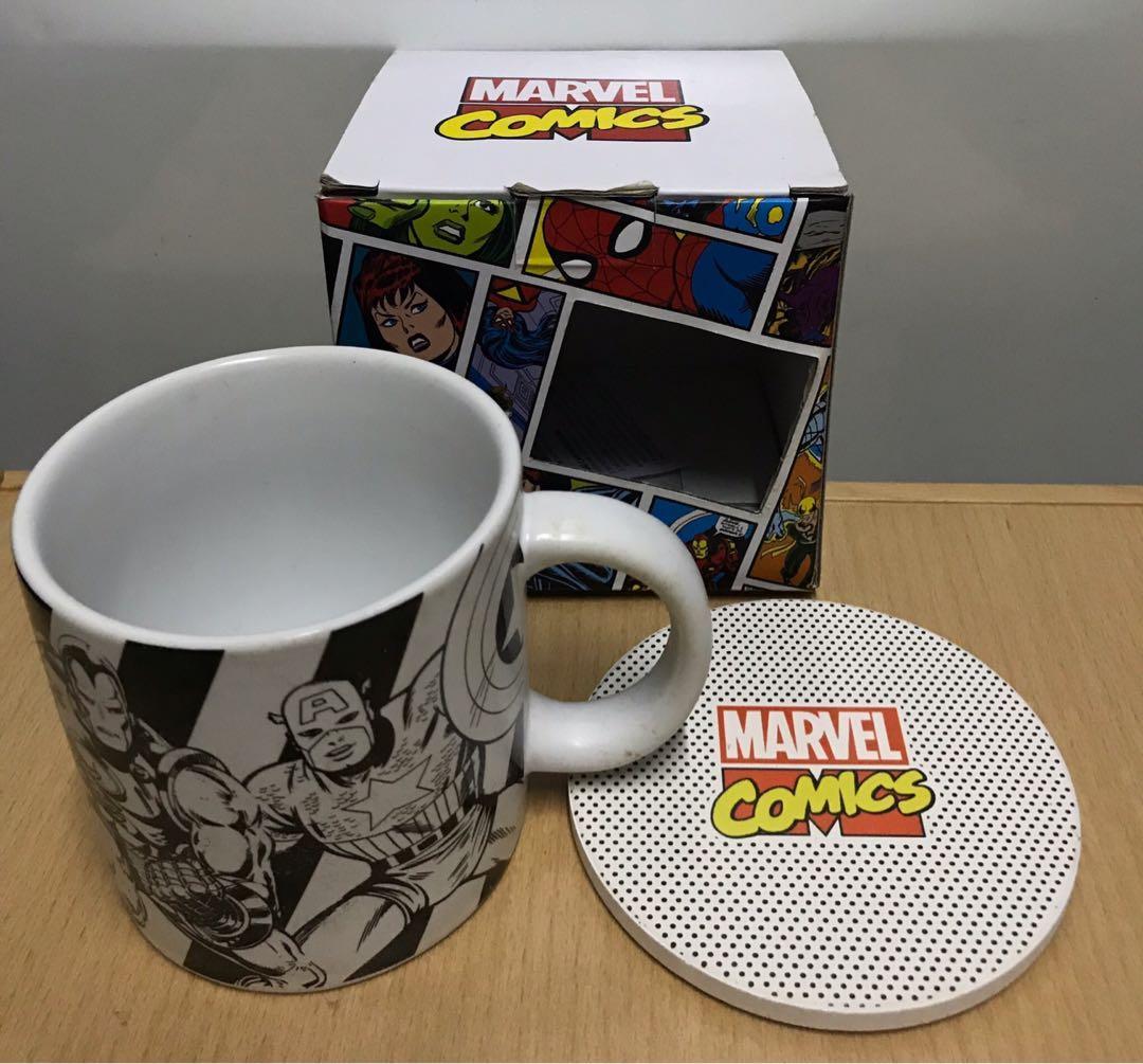 Marvel 瓷杯連杯墊