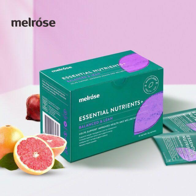 Melrose Balanced & Lean 紅橙輕盈粉