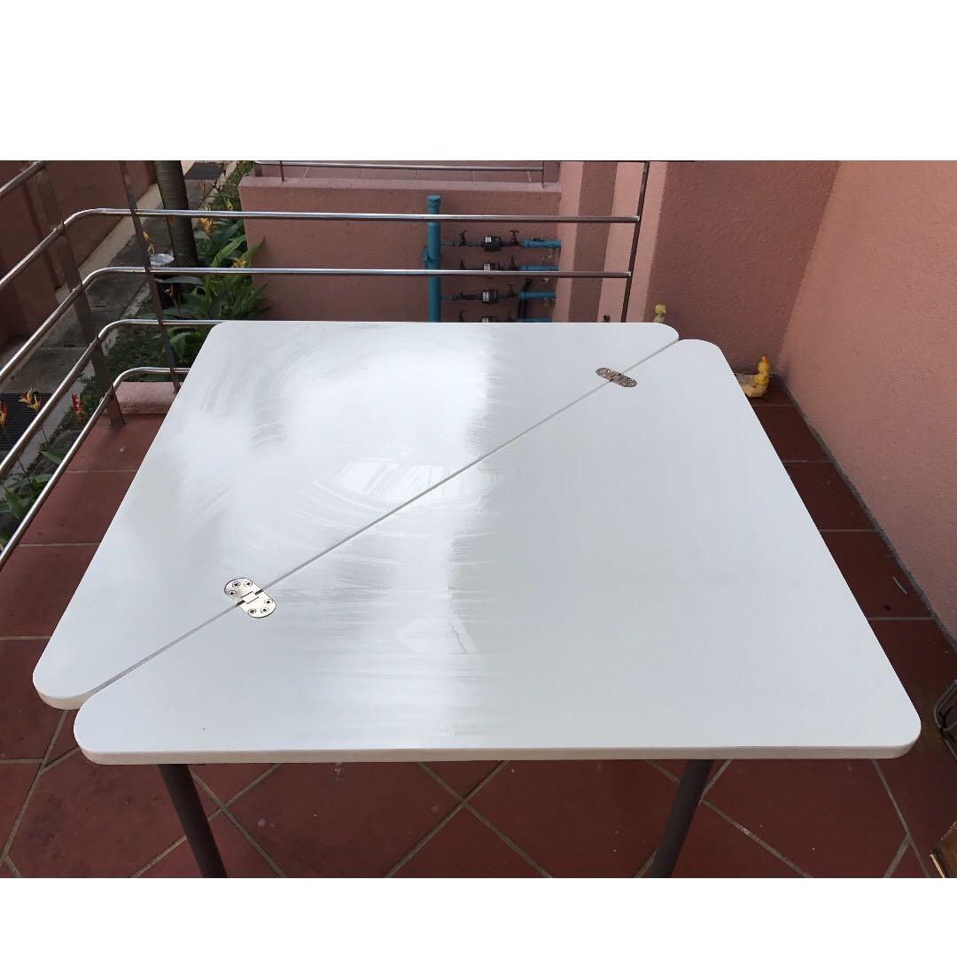 Moving Out Sale Ikea Lokka Flip Top Table Furniture Tables Chairs On Carousell