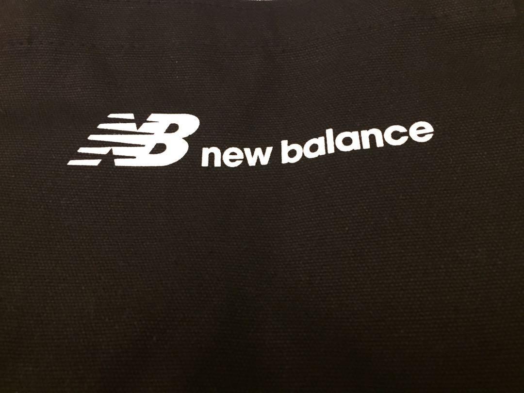 NEw balance tote bag 環保袋  可上膊 男女合用 黑色 black  全新 NEW
