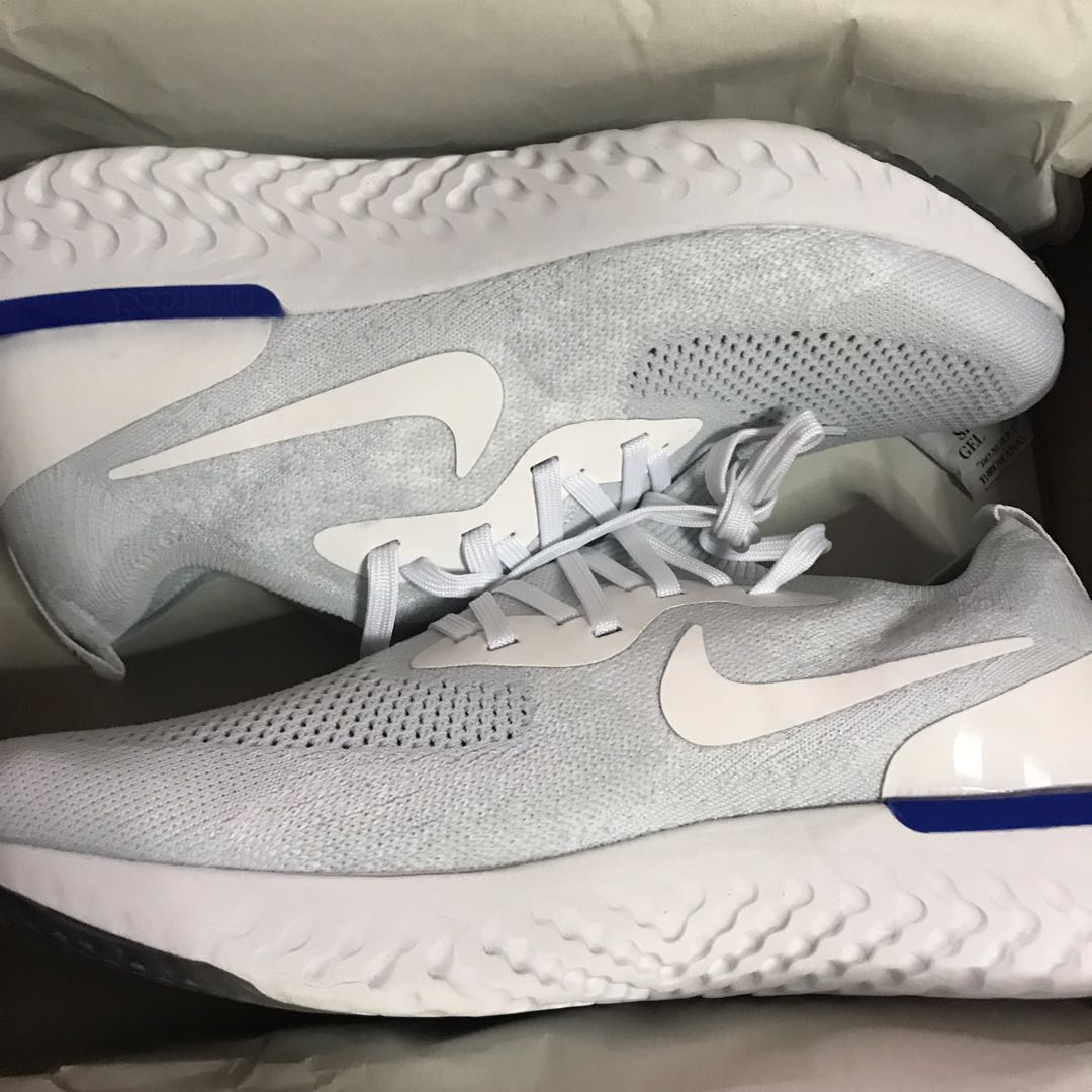 timeless design 63116 8efd5 Nike Epic React Flyknit, Sports, Sports Apparel on Carousell