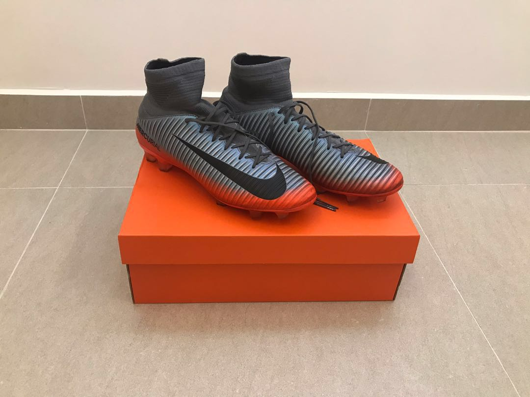 35ea9aa0697 Nike Mercurial Veloce III DF CR7 FG Cleats  COOL GREY