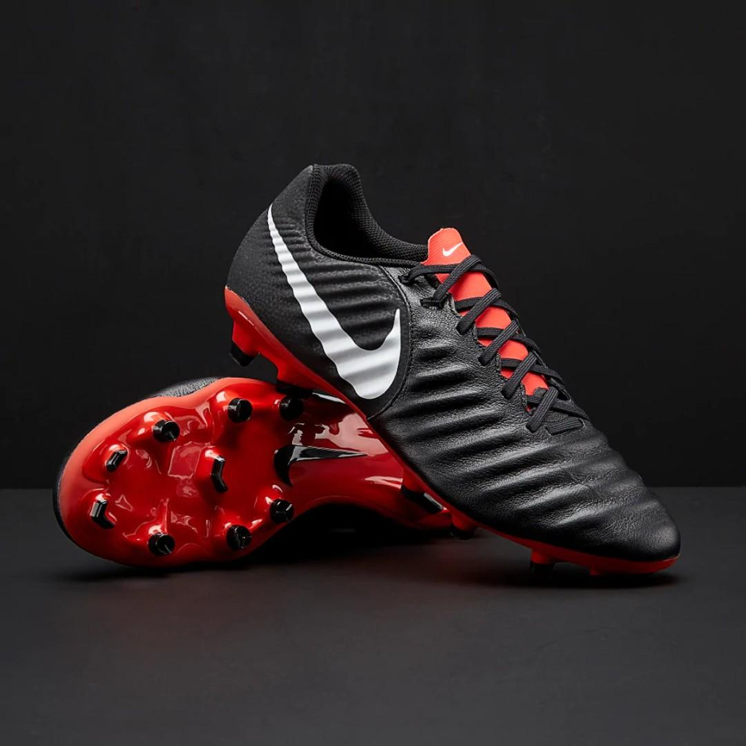separation shoes 549c7 26dd8 Nike Tiempo Legend VII Academy MG Multi Ground Turf Black ...