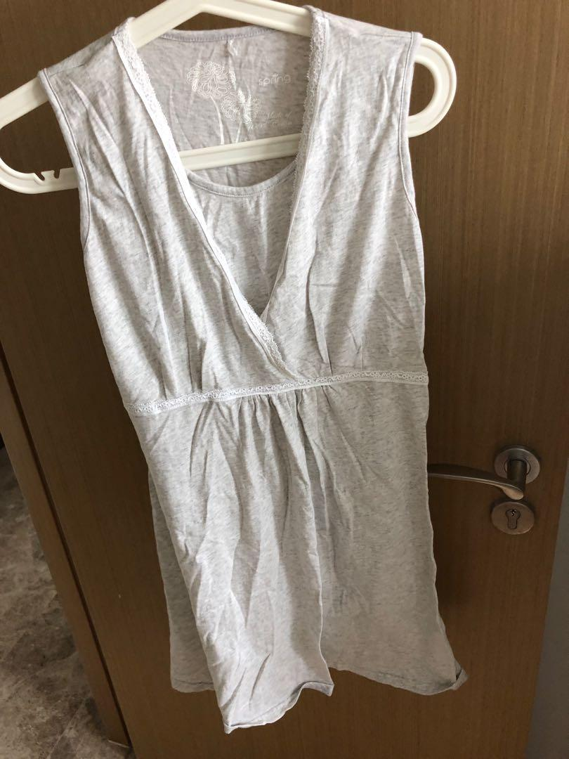 Nursing nightgown